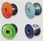 Semi-machined steel reels for wire drawing