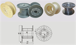 Big bore plastic reels for European and American wire drawing machines
