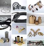 Spare and wear parts for wire and cable machines