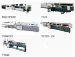 Integrated tube cutting lines