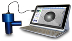 Portable probe for automatic image analysis for Brinell tests