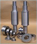 Rolls and cylinders for rolling, forming and shearing machines