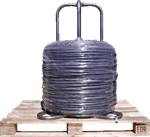 Drawn wire for general uses
