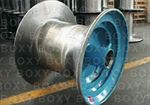 Conical drum and/or flanges reel for wiredrawing, stranding or rope-making machines - BSK