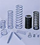 Cylindrical, conical and biconical compression springs