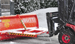 Snow plow buckets and anti-ice equipments