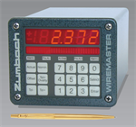 In-line diameter and capacitance measuring and monitoring systems for wire and cable