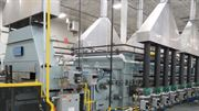 CAN-ENG installs 6000lb/hr continuous mesh belt atmosphere heat treat system for Metex