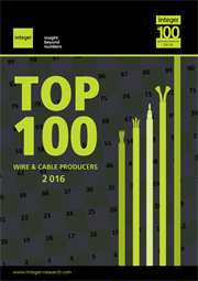 Out now: the Top 100 Global Wire and Cable Producers Database