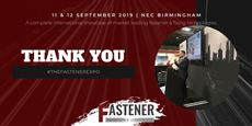 A successful premiere for the Fastener Exhibition & Conference 2019