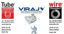 VIRAJ at the international exhibition WIRE & TUBE 2010 in Duesseldorf