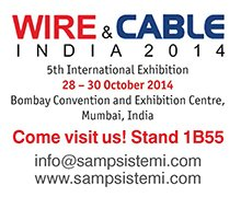 SAMP at Wire & Cable India: Double twist buncher in action