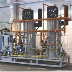 Can-Eng Furnaces commissions continuous mesh belt atmosphere hardening furnace system