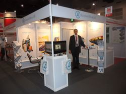 Lamnea Bruk at the main showcase for the wire industry in Southeast Asia