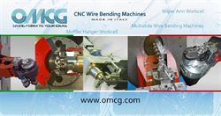 Wire, strip and tube bending and forming: OMCG under the spotlights in Düsseldorf