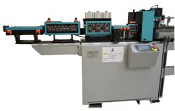 Wire straightening and cutting machine Cometo MTF22 with chamfering system
