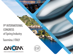 Coming soon, the 9th International Conference of the Springs Industry