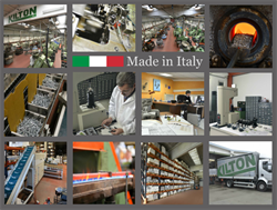 Kilton: more than 40,000 Made in Italy fasteners for prompt delivery
