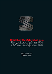 New bright drawn wire catalog for Trafileria Scerelli