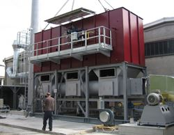 Effegidi installs thermal oxidation system for the treatment of atmospheric emissions