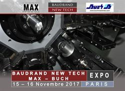 Private Expo in Paris: 15-16 November, Baudrand New Tech-MAX-BUCH