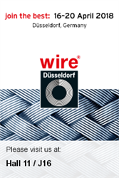 Trafilerie San Paolo at the wire fair in Düsseldorf