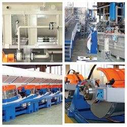 Production of concrete reinforcement wire & surface treatment lines: renewed catalogues