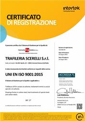 Trafileria Scerelli: a certified quality