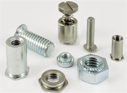Studs, nuts and standoffs: a wide range of self-clinching fasteners