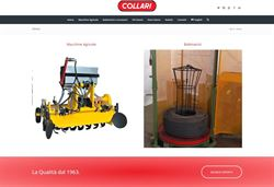 Coil winders and decoilers: new visuals for Collari Macchine's website