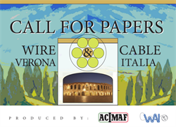 Wire & Cable Verona 2019: call for papers