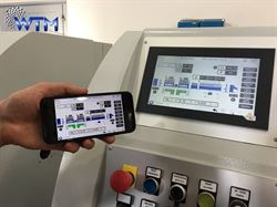 Manage your own taping lines from the smartphone: WTM introduces a new smart app