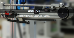 Microstudio presents a new short linear dancer arm