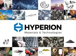Hyperion Materials & Technologies celebrates first year as standalone company