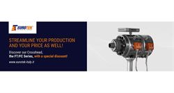 Streamline your production: discounts on ECF10 extrusion heads