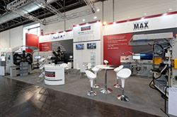 A wide selection of wire and strip forming machines on showcase at wire 2020