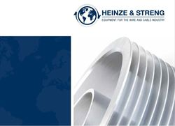 German wire and cable industry supplier Heinze & Streng to present its new catalog
