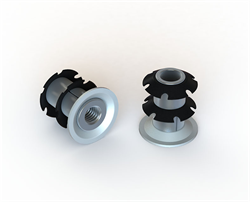 Round and square tubes: Crown-Nut by Specialinsert to revolutionize the fastening world