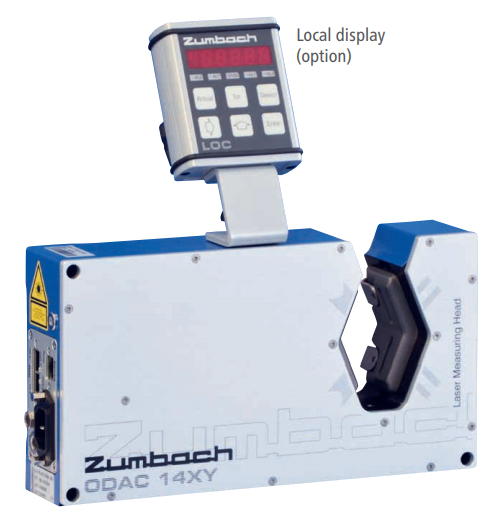 Dual Axis Laser Measuring Heads