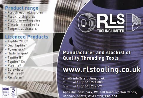 RLS Tooling is on the press